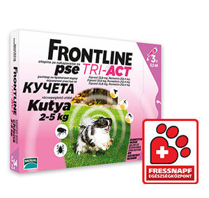 30% kedvezmény – Frontline TriAct spot-on (5-méret) / Egészségközponti termék