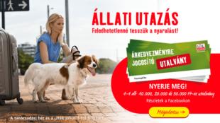 Állati utazás, állati nyereményekkel!