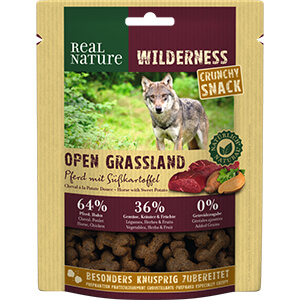 Real Nature Wilderness Crunchy lóhús és édesburgonya 225g