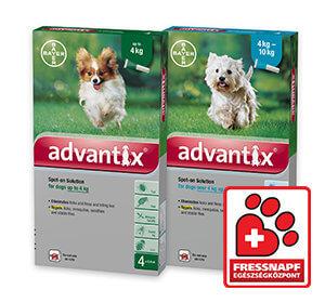 Advantix spot on kutyának