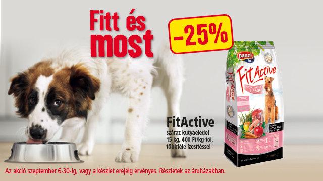 Fitt és most! FitActive-akció a Fressnapfban