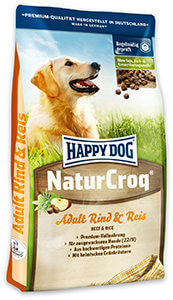 20% kedvezmény – Happy Dog Natur Croq száraz eledel 15kg (többféle)