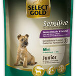 Select Gold Sensitive tasak junior mini bárány&lazac 100g
