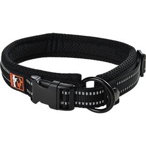 DogsCreek kutyanyakörv Safety fekete 35-45cm