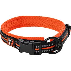 DogsCreek kutyanyakörv Safety narancssárga 35-45cm