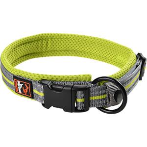 DogsCreek kutyanyakörv Safety zöld 35-45cm