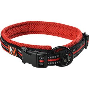 DogsCreek kutyanyakörv Safety piros 45-55cm