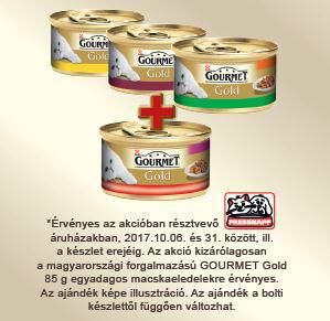 3+1 AKCIÓ – Gourmet Gold konzerv 85g (többféle)