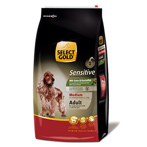 Select Gold Sensitive adult medium kacsa 12kg