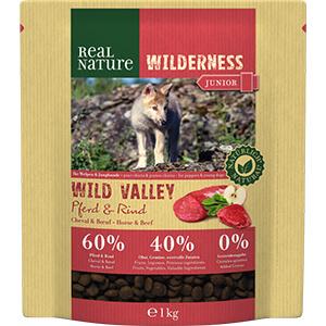 Real Nature Wilderness junior lóhús&marha 1kg