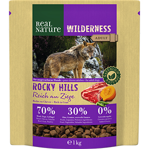 Real Nature Wilderness adult kecske&marha 1kg