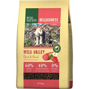 Real Nature Wilderness junior lóhús&marha 4kg