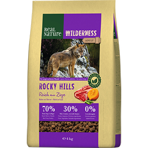 Real Nature Wilderness adult kecske&marha 4kg