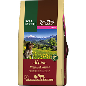 Real Nature Country Alpine junior pulyka&marha 12kg