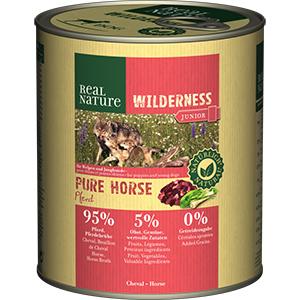Real Nature Wilderness konzerv junior lóhús 800g