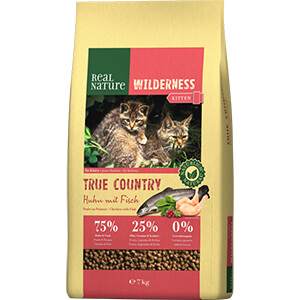 Real Nature Wilderness kitten csirke&hal 7kg