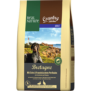 Real Nature Country Bretagne adult gyöngytyúk&kacsa 4kg