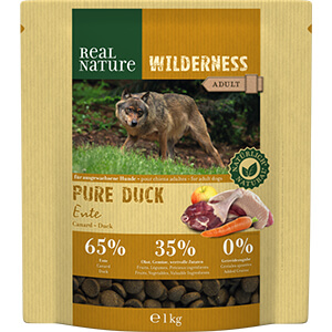 Real Nature Wilderness adult pure kacsa 1kg