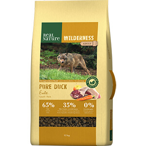 Real Nature Wilderness adult pure kacsa 12kg