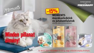 Akciós Moments termékek cicáknak