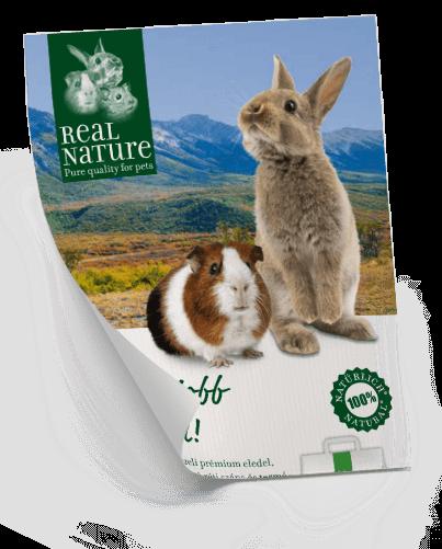 Real Nature terméktájékoztató kisemlősöknek