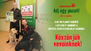 Ünnepi segítség: több, mint 4 millió forint gyűlt össze!