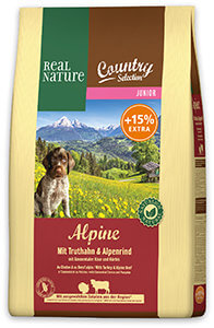 600 g AJÁNDÉK – Real Nature Country 4,6kg (többféle)