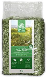 Real Nature zöld 1kg réti széna