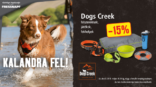 Kezdődhet a kaland a Dogs Creek-kel