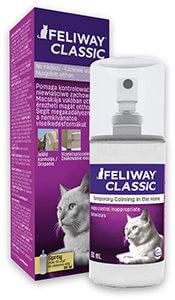 SZÁLLÍTÓBOXHOZ 20% kedvezmény - Feliway/Adaptil Classic spray 60 ml