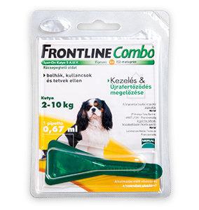 20% kedvezmény – Frontline Combo Spot-On cicáknak/kutyáknak (többféle)