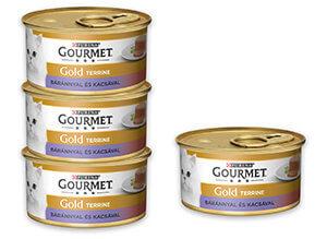 3+1 AKCIÓ – GOURMET Gold konzerv 85g