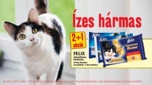 Cicagazdik, figyelem! Félix-akció a Fressnapfnál!