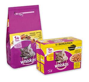 Whiskas 12x100g /12x85g/ 1,4 kg eledel többféle Akciós ár: