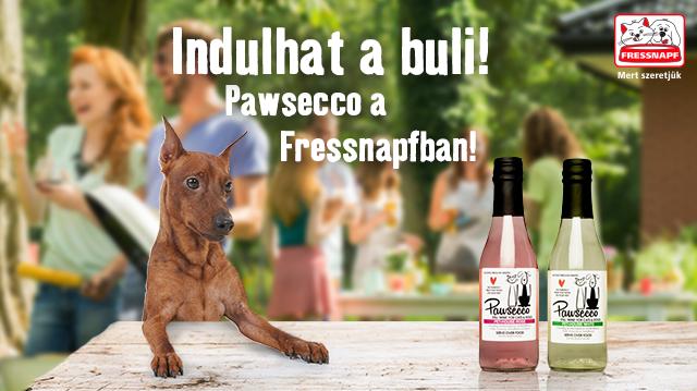 Magyarországon először: Pawsecco a Fressnapfnál!
