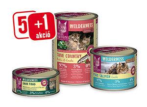 5+1 AKCIÓ – Real Nature Wilderness konzerv 100g/200g/400g (többféle) Pl. 100g