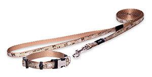 Akciós ROGZ pórázak/nyakörvek/hámok Pl. Trendy barna nyakörv 14-21cm