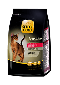 Select Gold Sensitive adult marha&burgonya 400g