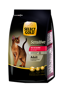 Select Gold Sensitive adult marha&burgonya 400g