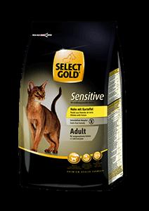 Select Gold Sensitive adult csirke&burgonya 400g