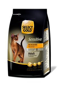 Select Gold Sensitive adult pulyka&burgonya 400g