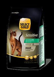 Select Gold Sensitive adult lazac&burgonya 400g