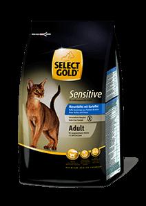 Select Gold Sensitive adult bivaly&burgonya 400g