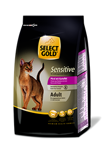 Select Gold Sensitive adult lóhús&burgonya 400g