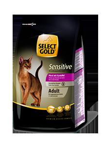Select Gold Sensitive adult lóhús&burgonya 400g