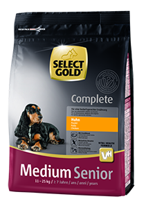 Select Gold Complete medium senior csirke 1kg