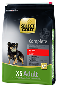 Select Gold Complete XS adult marha 4kg
