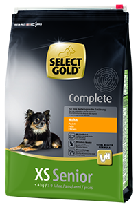 Select Gold Complete XS senior csirke 4kg