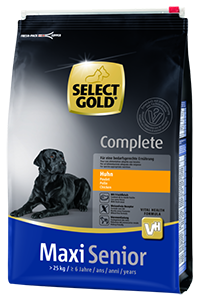 Select Gold Complete maxi senior csirke 4kg