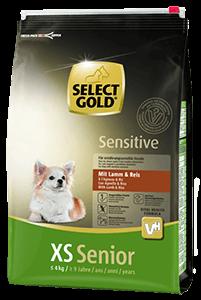 Select Gold Sensitive XS senior bárány&rizs 4kg